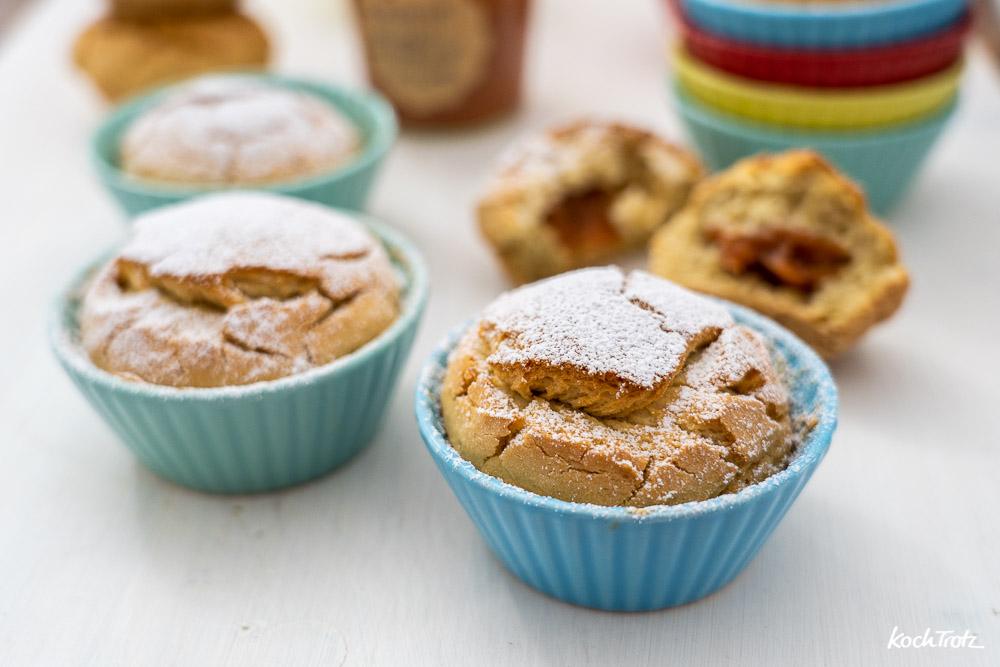 Berliner-Muffins | Krapfen-Muffins | Berliner oder Krapfen in der Muffin-Variante | glutenfrei | hefefrei