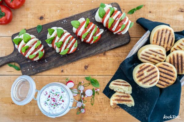 Tolle Grillbeilagen und Sommersnacks für die Grillsaison | glutenfrei und laktosefrei