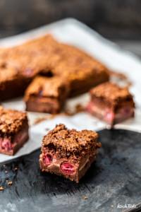 glutenfreier Schokoladen Magic Cake mit Reismehl   glutenfreier Zauberkuchen