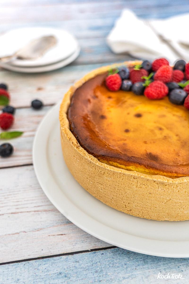 Klassischer Kasekuchen Glutenfrei Und Laktosefrei Kochtrotz Kreative Rezepte