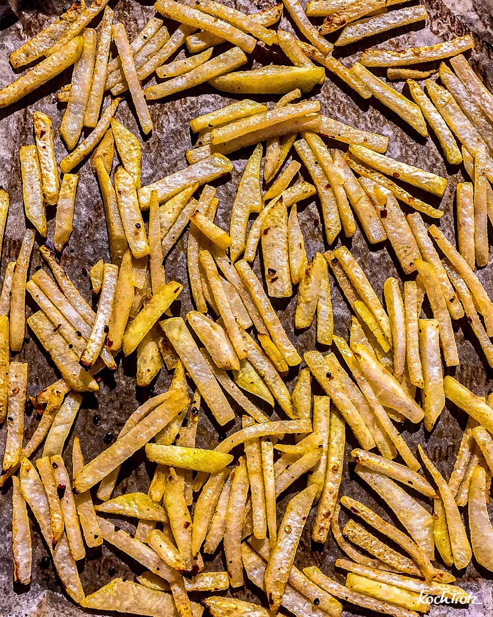 Kohlrabi-Pommes | low-carb und fettarm