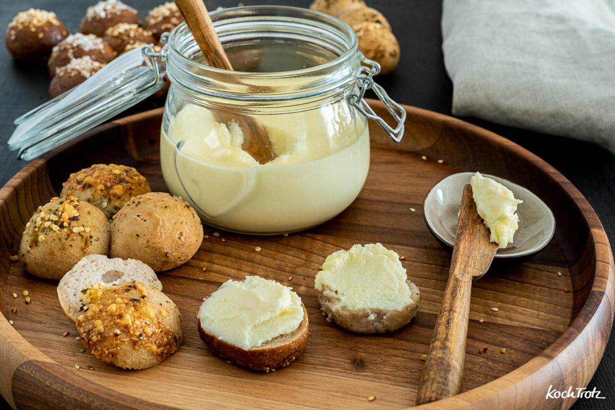 Rezept Schmelzkäse selbst gemacht | histaminarm und laktosefrei