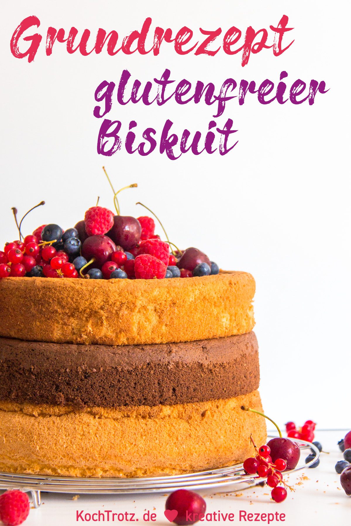 KochTrotz TOP5 aller Zeiten | Platz 3 | Rezept glutenfreier Biskuit gelingsicher