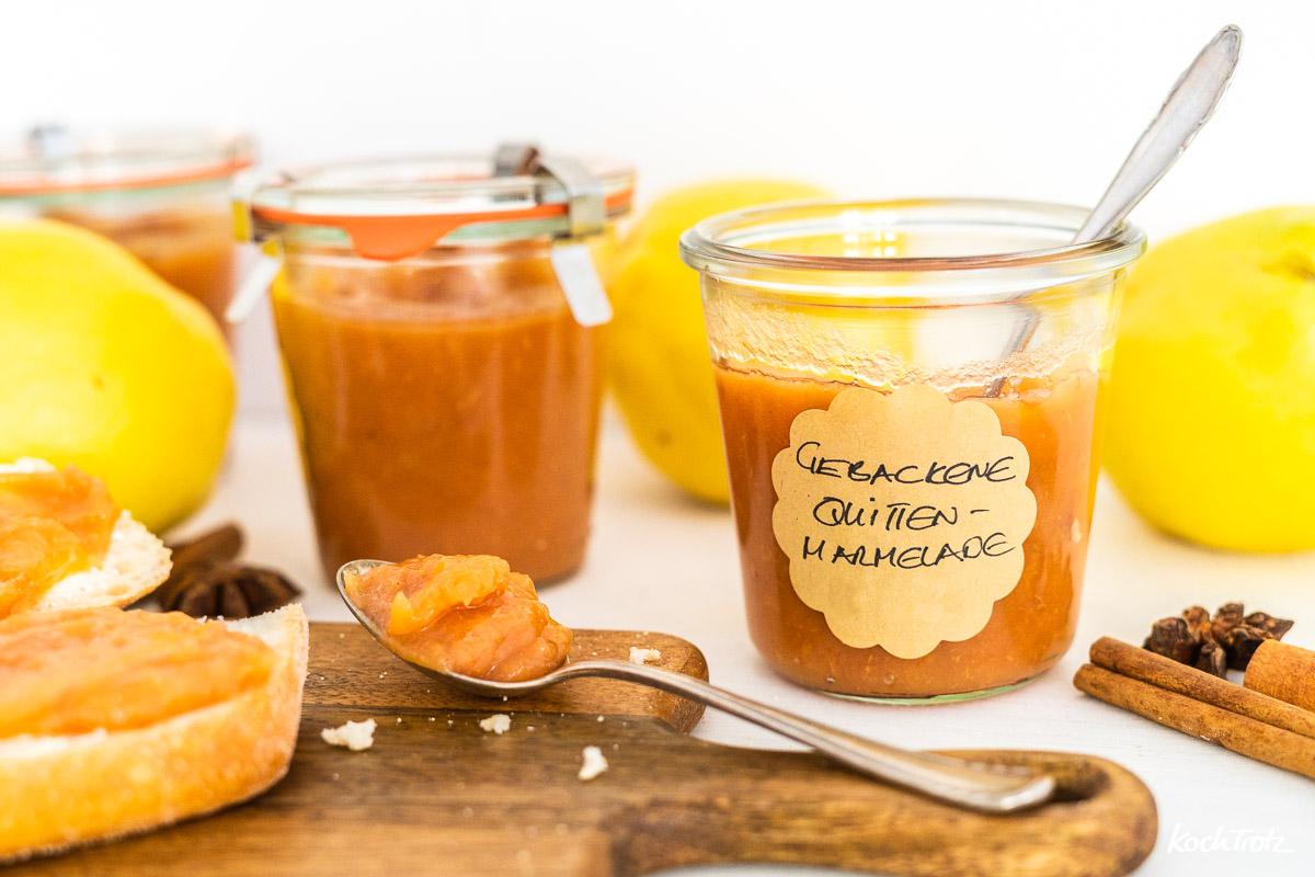 gebackene Quittenmarmelade | kocht sich von alleine