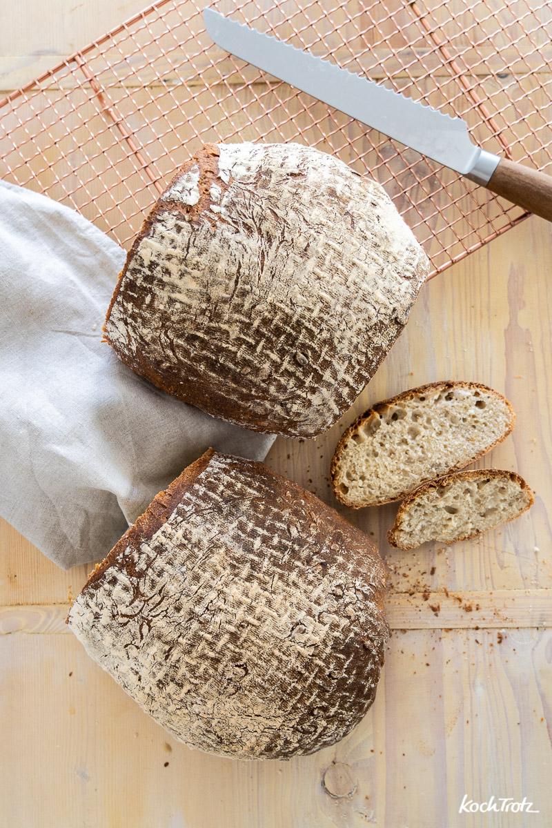 Milchkefir-Brot | Grundrezept für ein Brot mit Milchkefir als alleiniges Triebmittel