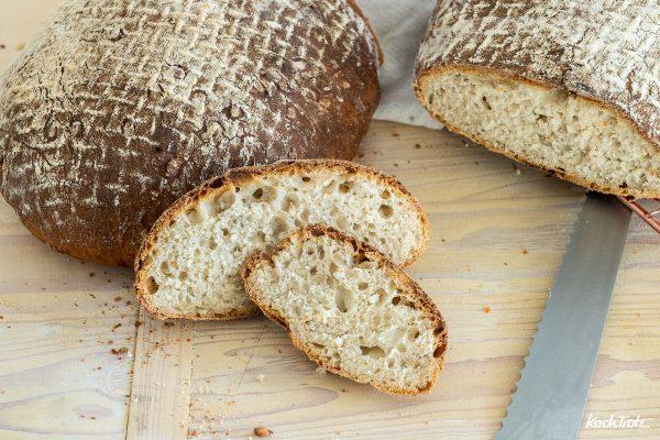 Milchkefir-Brot Grundrezept   ohne Hefe und ohne Sauerteig