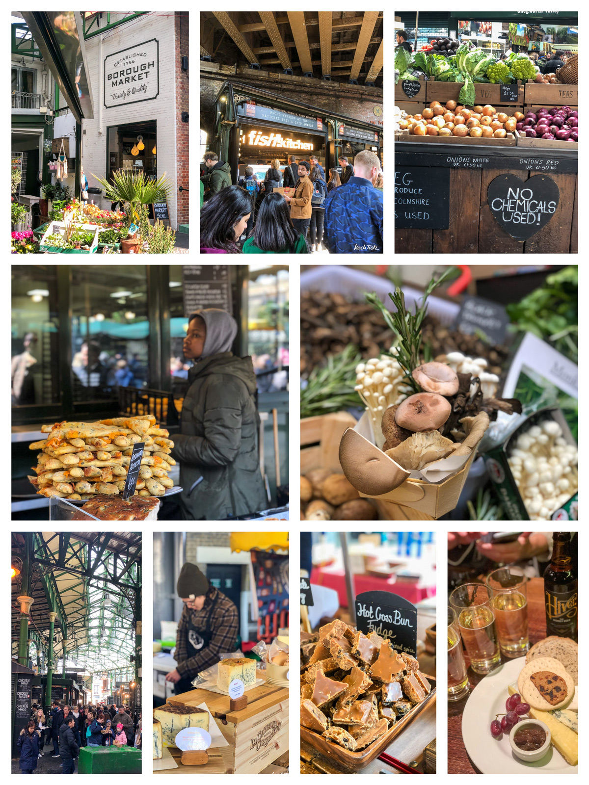 Borough Market, London   Rezept glutenfreies Shortbread