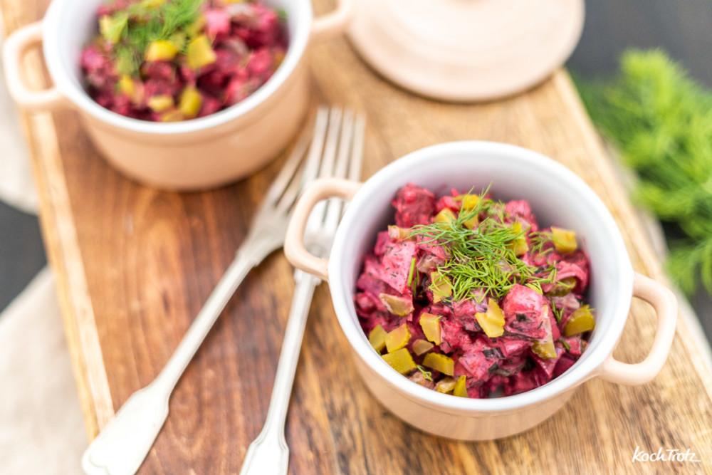 Rezept Heringssalat à la KochTrotz ohne Kartoffeln