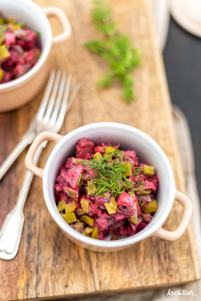 Der beste Heringssalat mit Matjes, einfaches Rezept