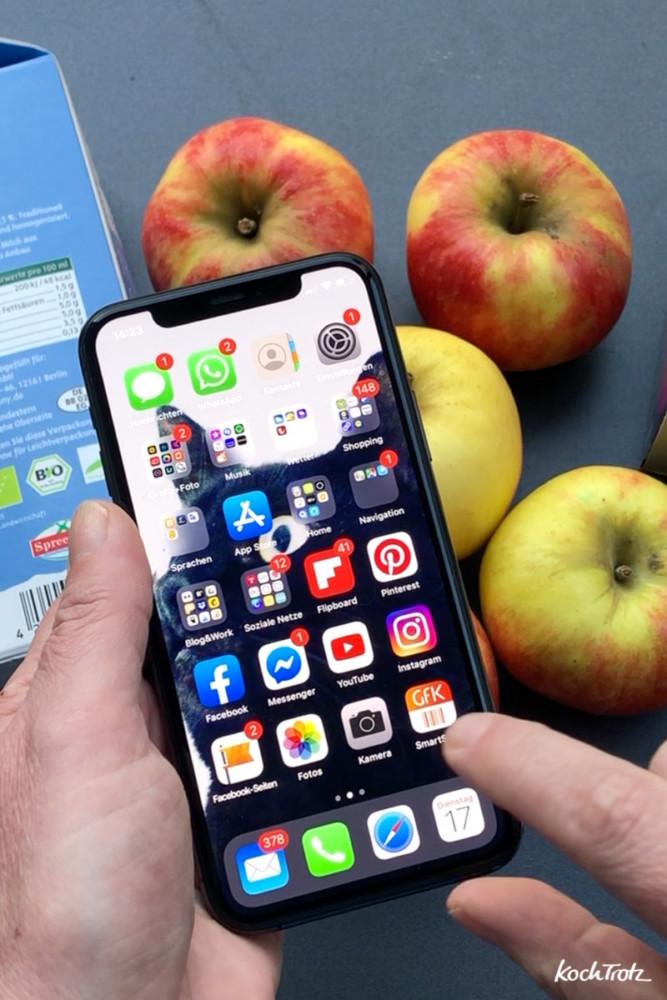 GfK SmartScan App Smartphone