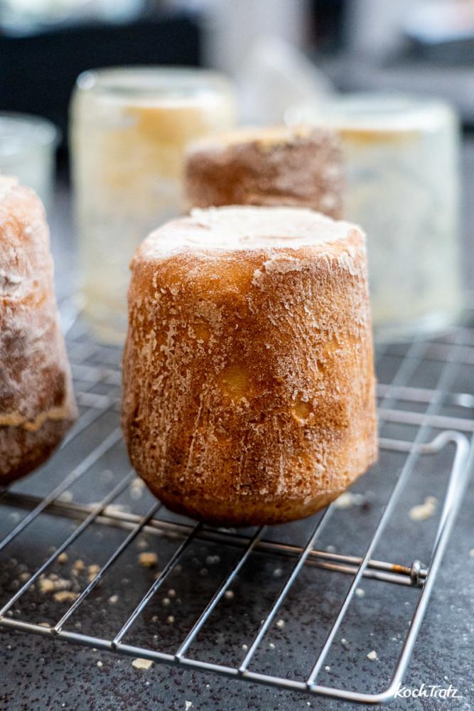 Brot im Glas, so bleibt es locker, saftig und lange haltbar.