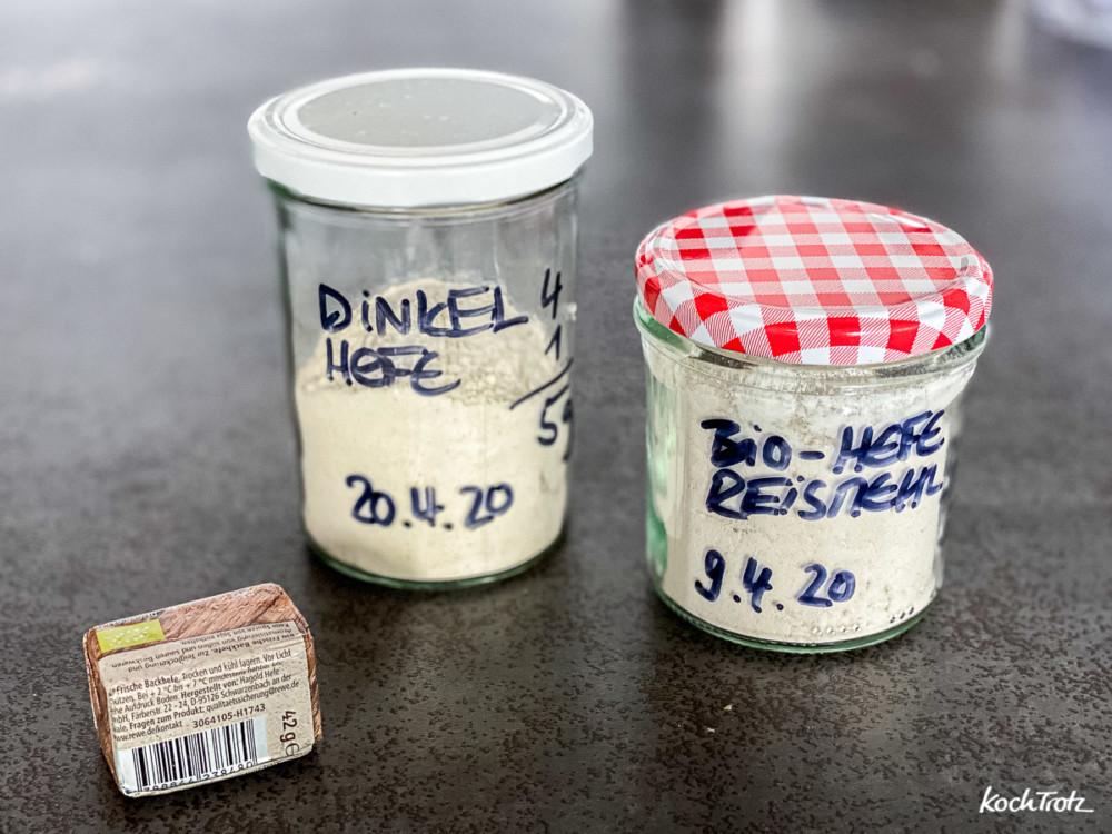 Frischhefe im Kühlschrank für Wochen haltbar machen
