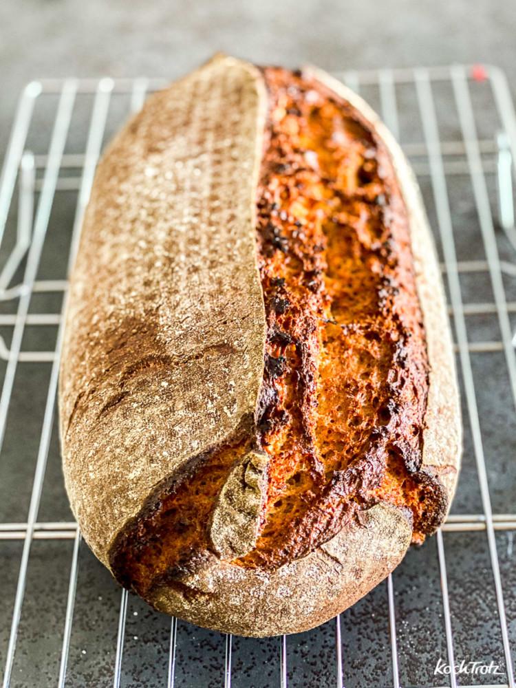 Anleitung Umrechnung Hefe-Rezepte auf Hefewasser-Rezepte Brot