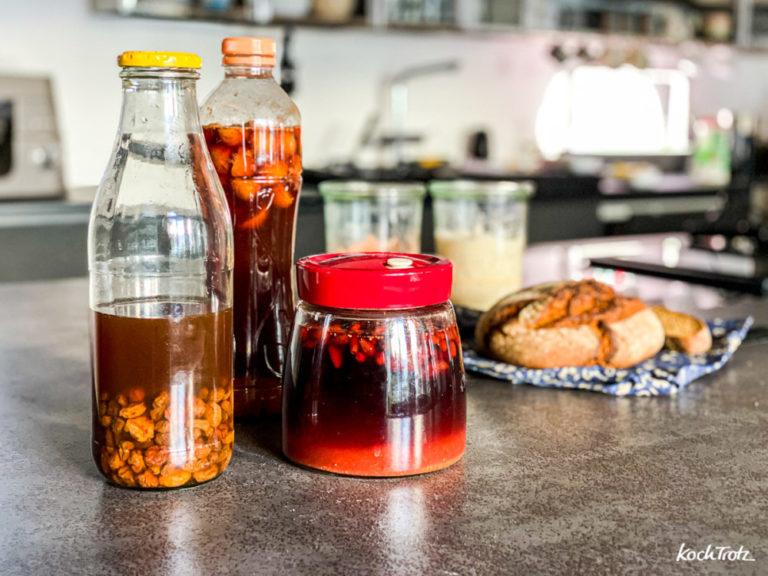 Anleitung Umrechnung Hefe-Rezepte auf Hefewasser-Rezepte