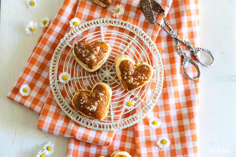 Rezept Laugenherzen wie Laugenecken vom Bäcker wahlweise glutenfrei und vegan