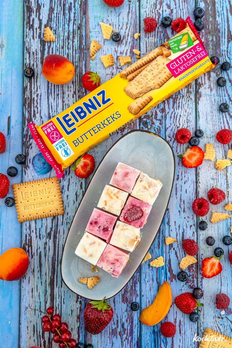 Rezept Frozen Yogurt Bites glutenfrei laktosefrei