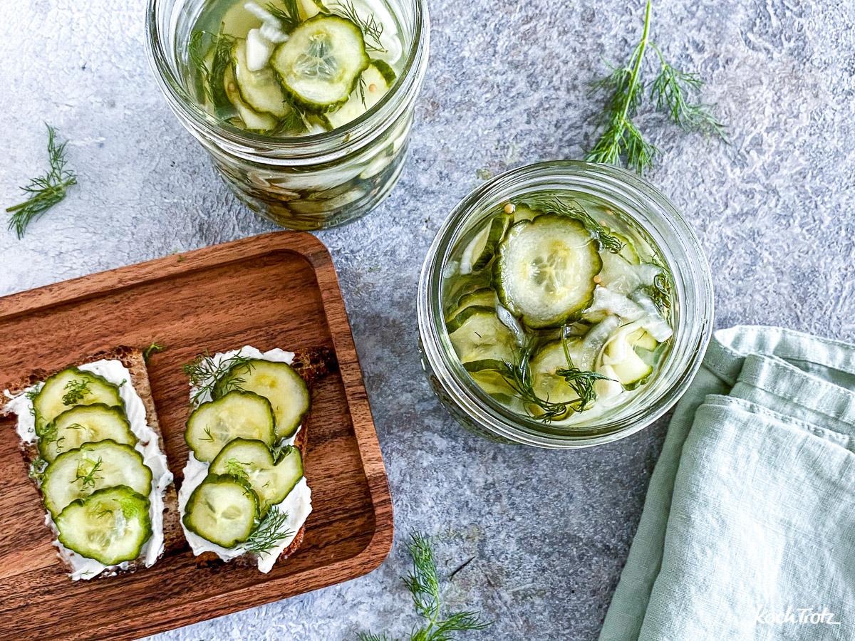 Rezept Sandwich-Gurken selber machen