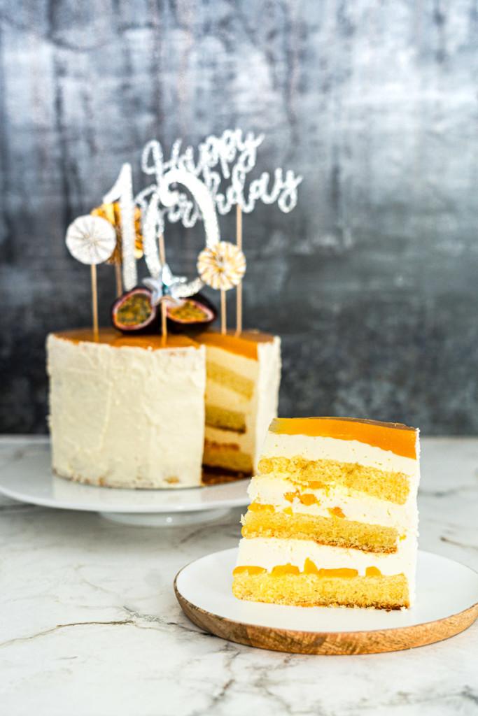 Rezept Käse-Sahne-Torte wahlweise glutenfrei, laktosefrei, fructosearm, ohne Milchprodukte