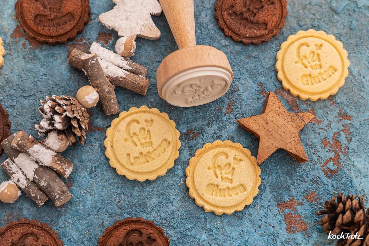 Grundrezept Keksstempel-Teig, glutenfrei und laktosefrei