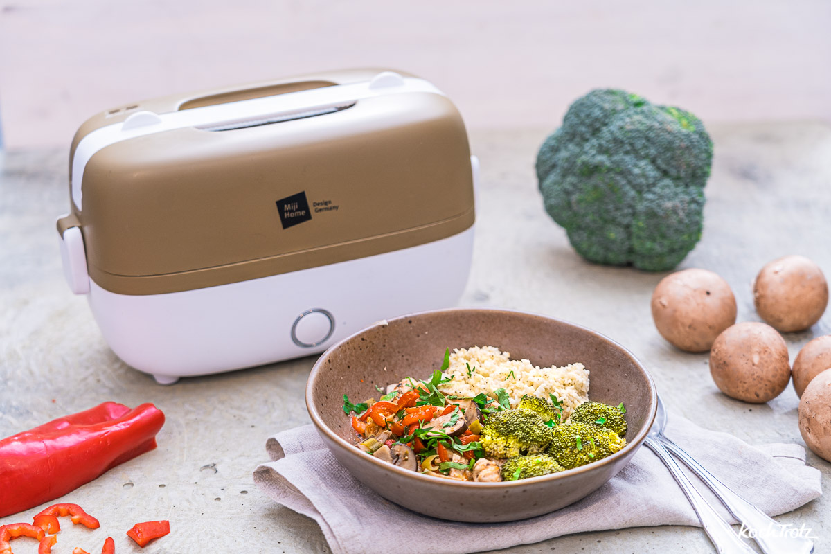 Miji Cookingbox One Produktvorstellung und Grundrezept