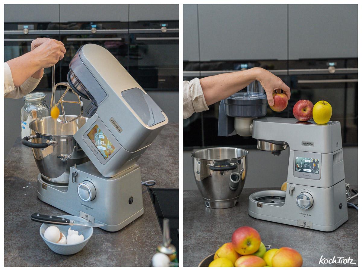 Rezept Apfel-Lasagne Kenwood Cooking Chef XL Waage