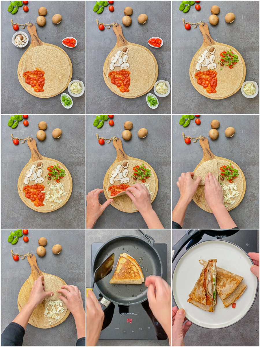 TickTock Tortilla Wrap Hack Pizzastyle
