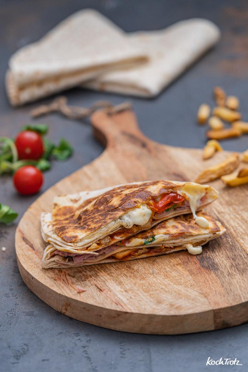 Rezept Tortilla Wrap mit Restverwertung