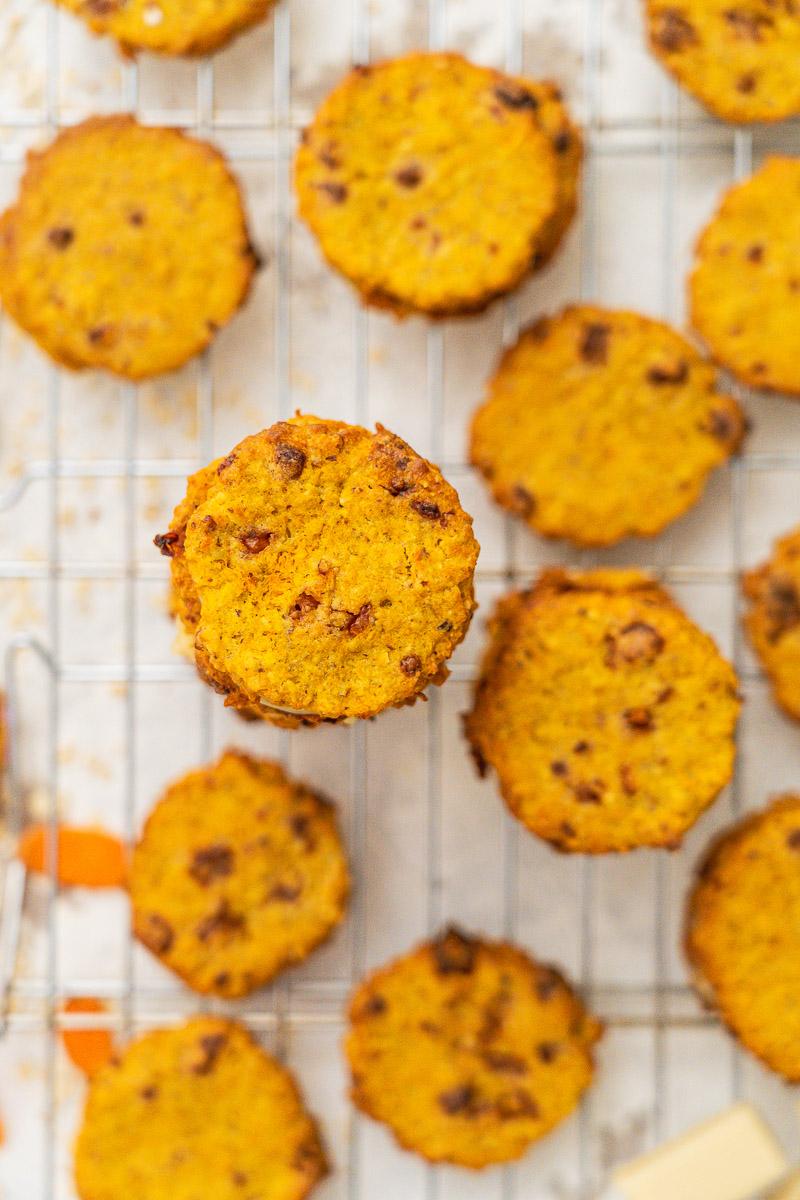 Karottenkuchen Kekse glutenfrei whalweise laktosefrei Rezept