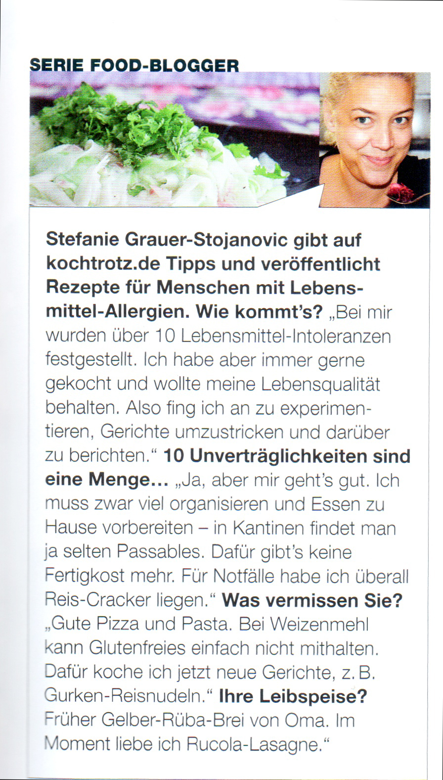 Interview Food and Travel mit kochtrotz.de