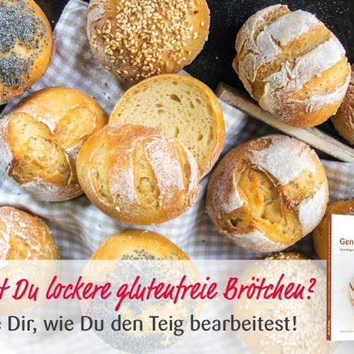 "KochTrotz Backbuch ""Genial glutenfrei Backen"" | Video | Glutenfreie Brötchen formen"