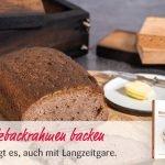 Glutenfrei Backen im Holzbackrahmen | auch mit Langzeitgare