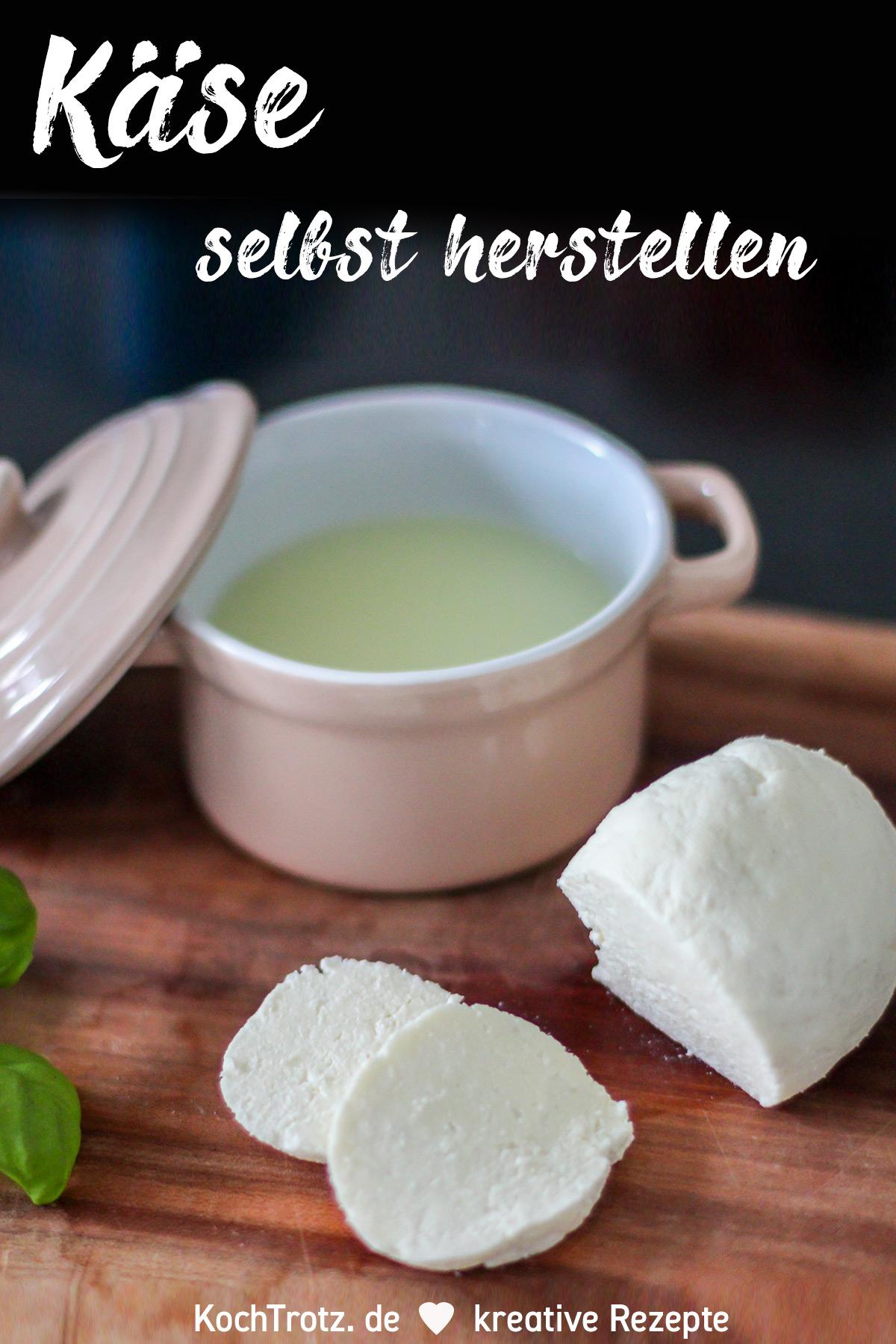 KochTrotz TOP5 aller Zeiten | Platz 1 | Rezept Käse einfach selbst herstellen | laktosefrei - histaminarm - ohne Lab