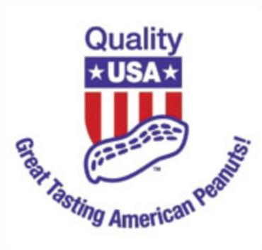 Logo und Label für original Amerikanische Erdnüsse