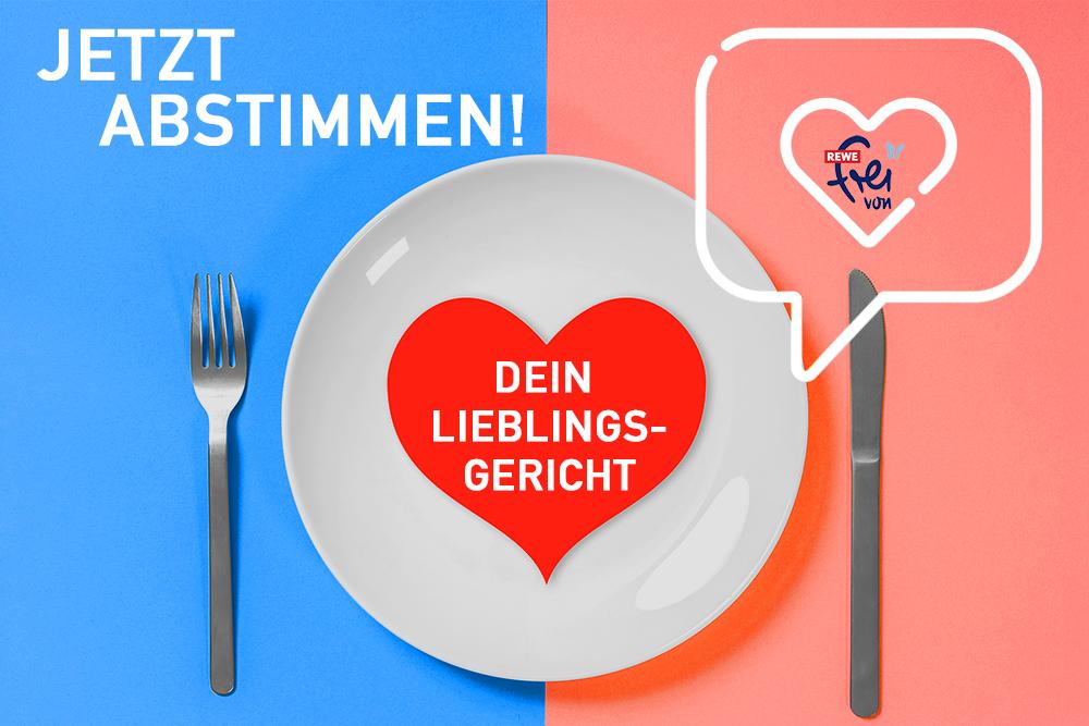 """Aktion Dein glutenfreies und laktosefreies Lieblingsgericht mit """"REWE frei von"""""""