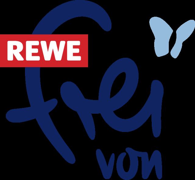 REWE frei von Logo