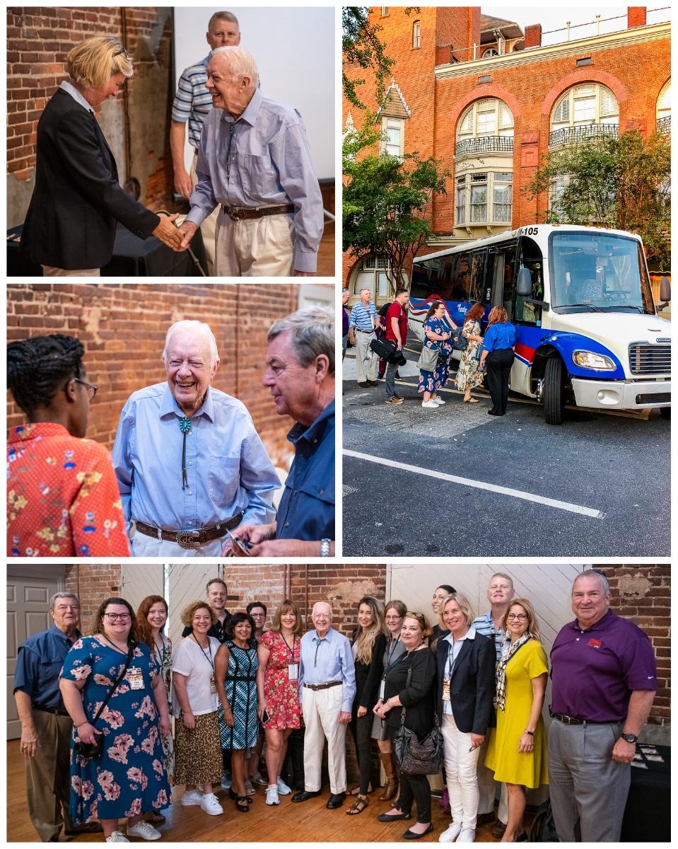 Frühstück mit Jimmy Carter   Erdnuss-Reise mit dem American Peanut Council