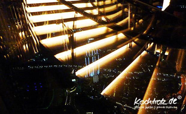 Treppenabgang zum AT.MOSPHERE Dubai