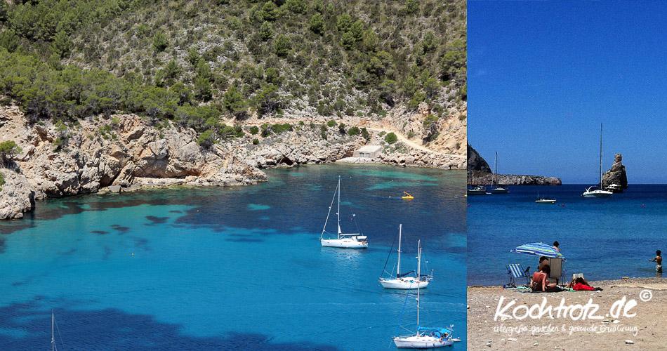 Buchten und Strände Ibiza