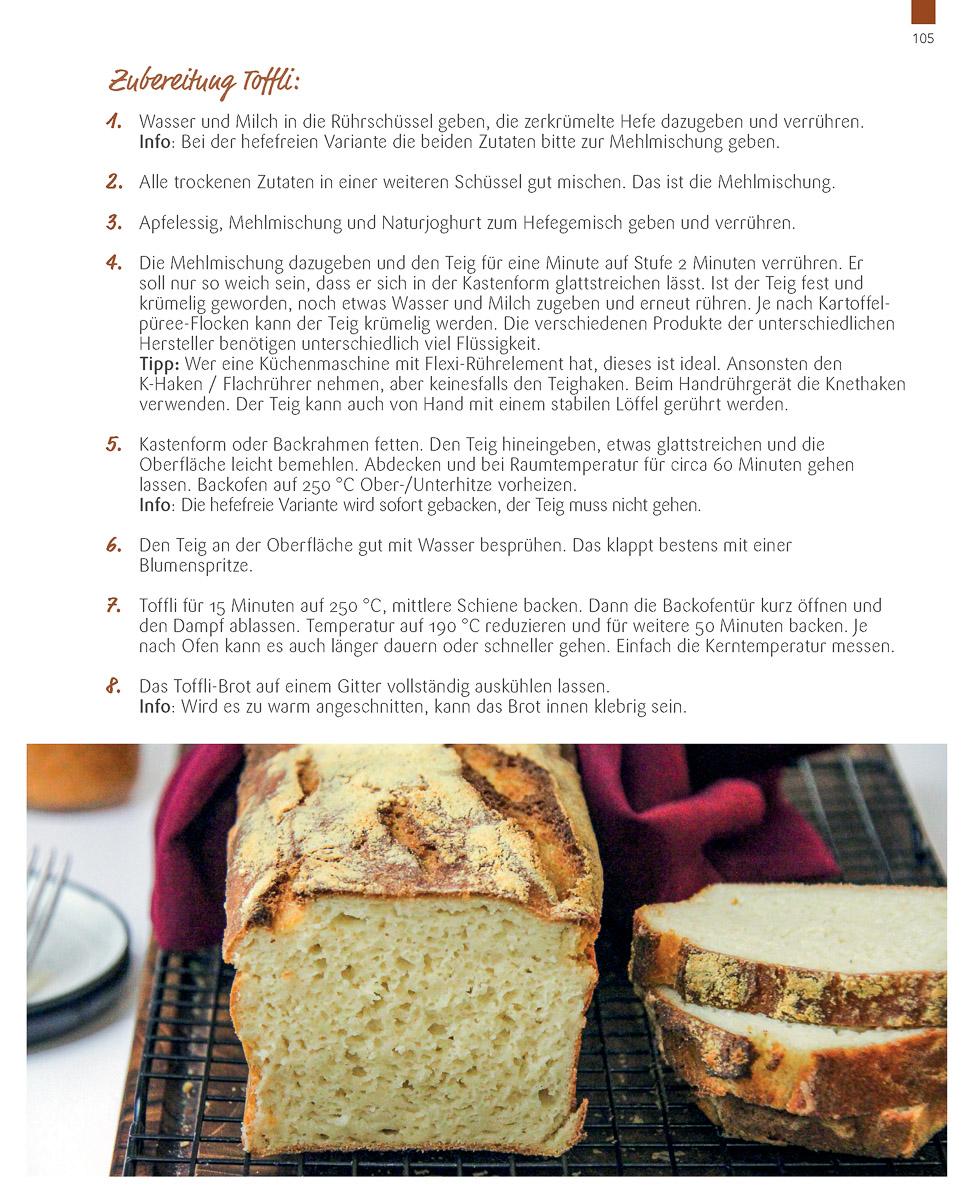 Rezept Brot Toffli Backbuch