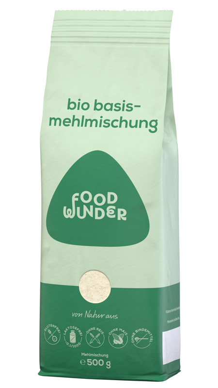 foodwunder Bio Basis-Mehlmischung