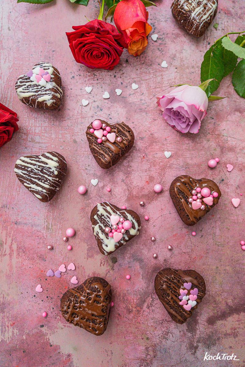 Rezept die einfachsten Schokomuffins der Welt wahlweise vegan + glutenfrei