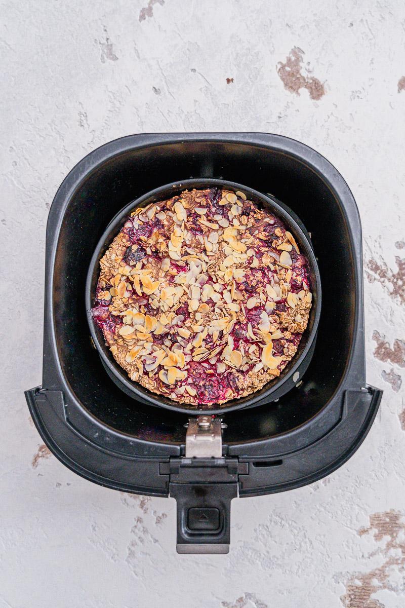 Rezept gebackene Haferflocken wahlweise glutenfrei vegan