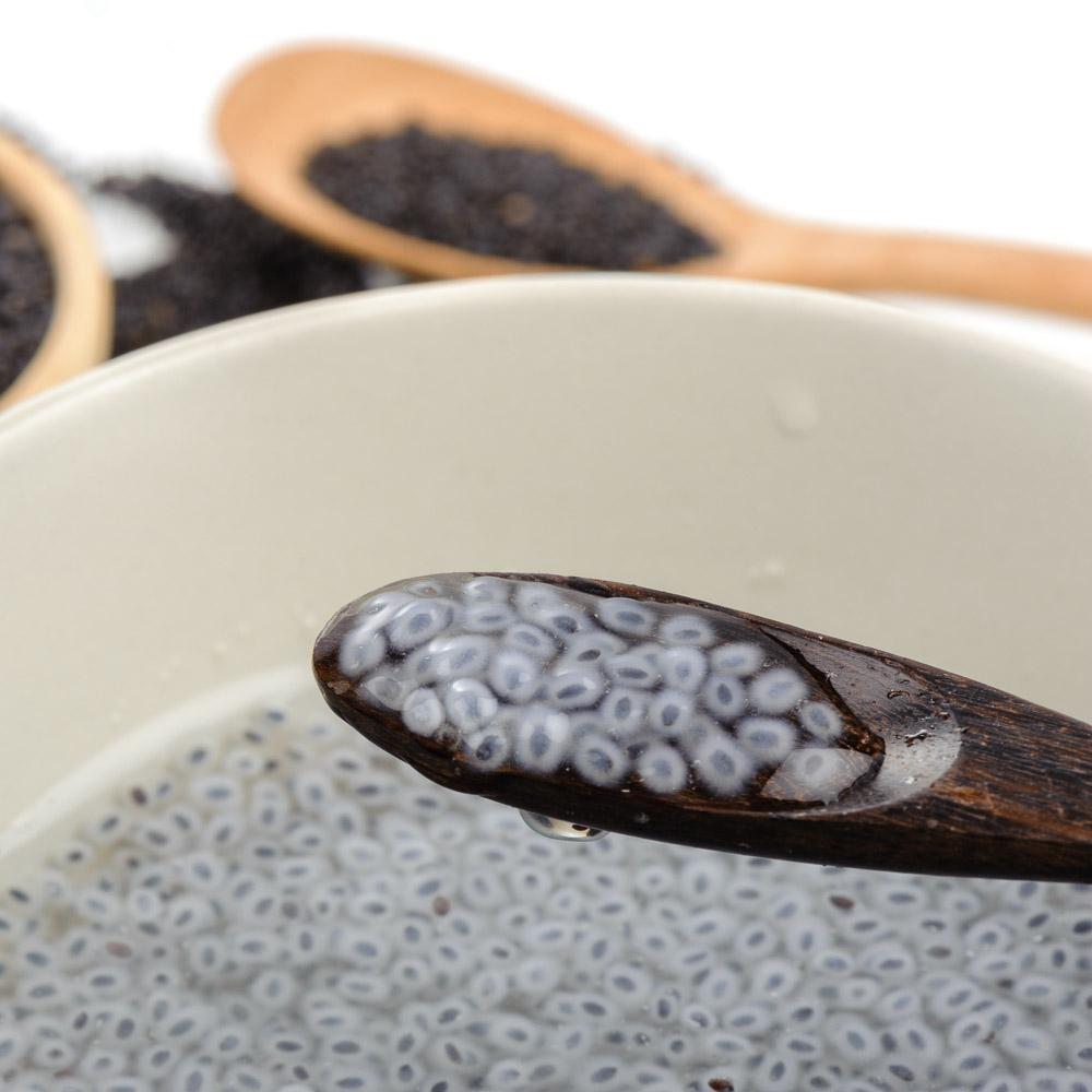 Heimisches Superfood | Basilikumsamen