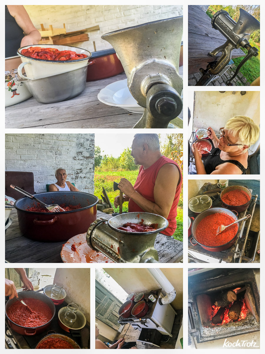 Original Ajvar-Rezept mit 4 Zutaten | unser Familienrezept