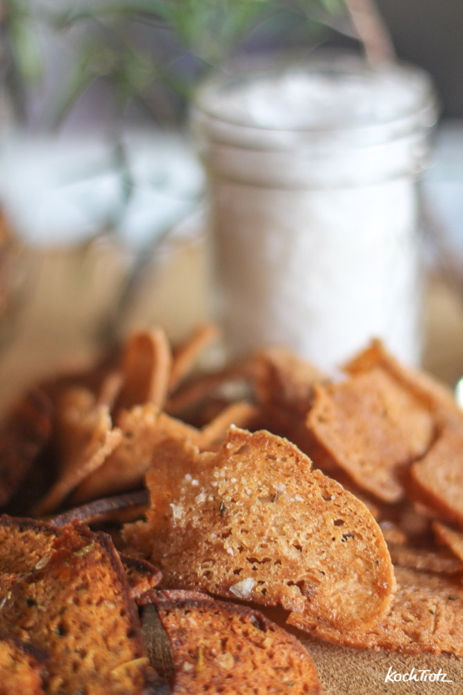 Brotchips selber machen   auch glutenfrei