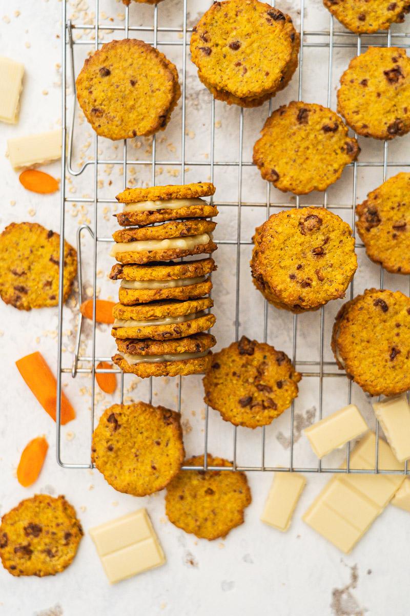 Rezept Carrot Cake Cookies glutenfrei laktosefrei