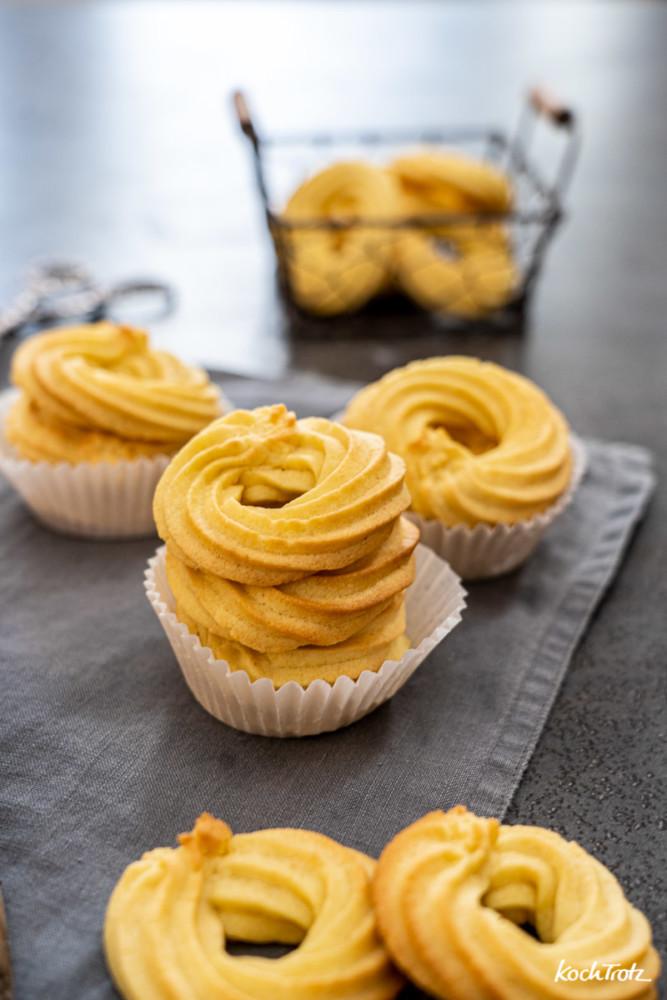 Dänische Butterkekse glutenfrei