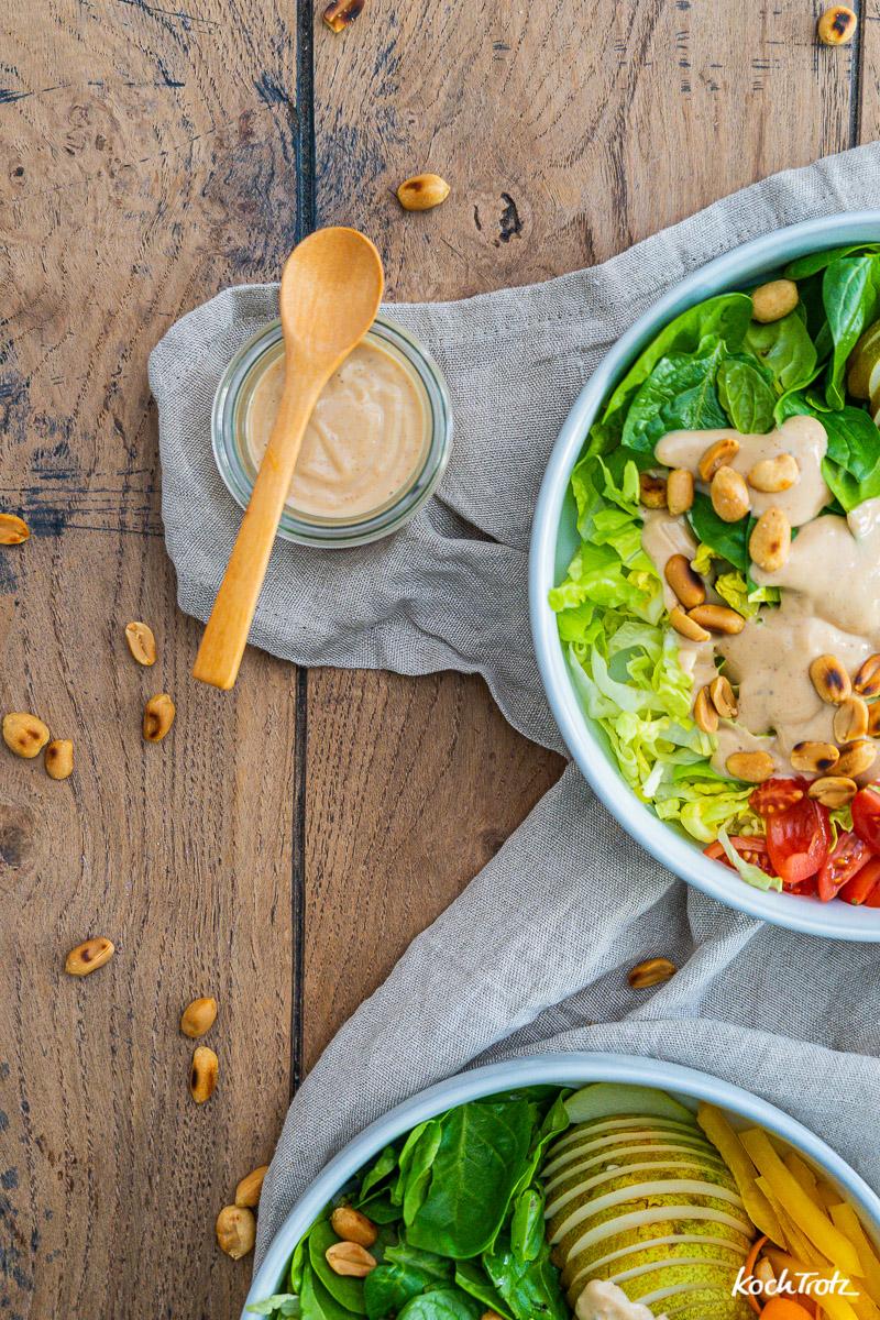 Rezept Erdnuss-Mayonnaise Salatdressing