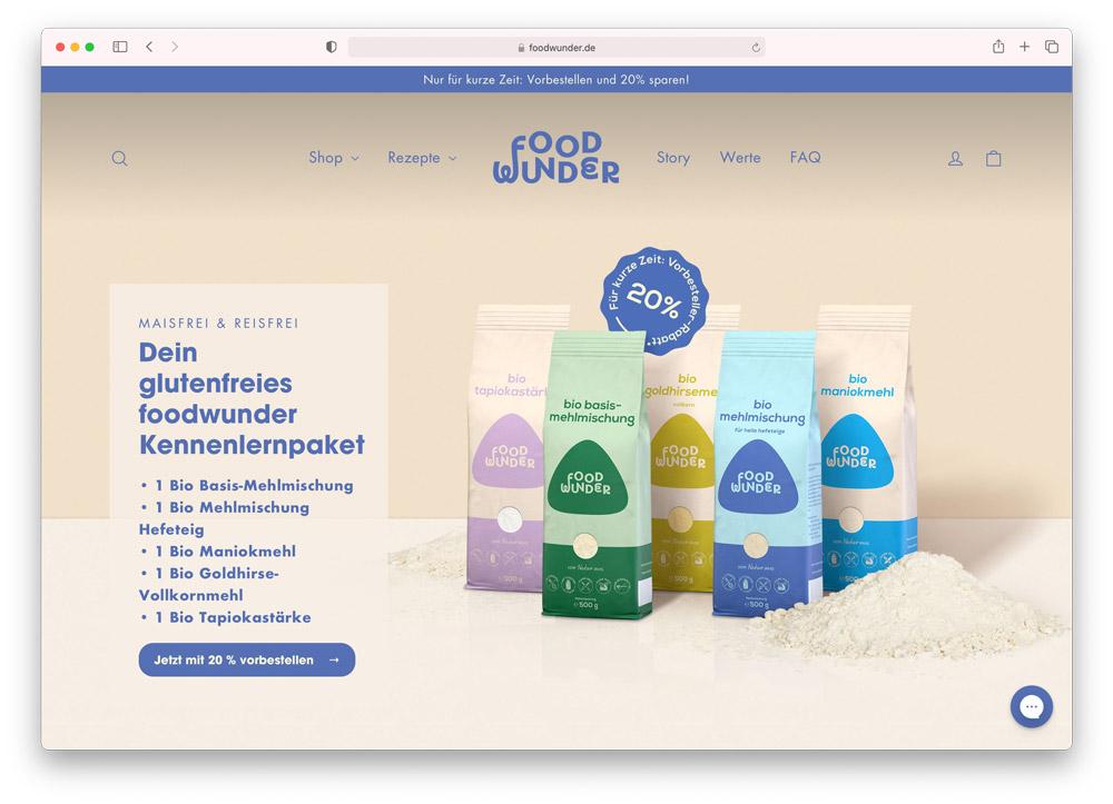 Foodwunder.de Onlineshop