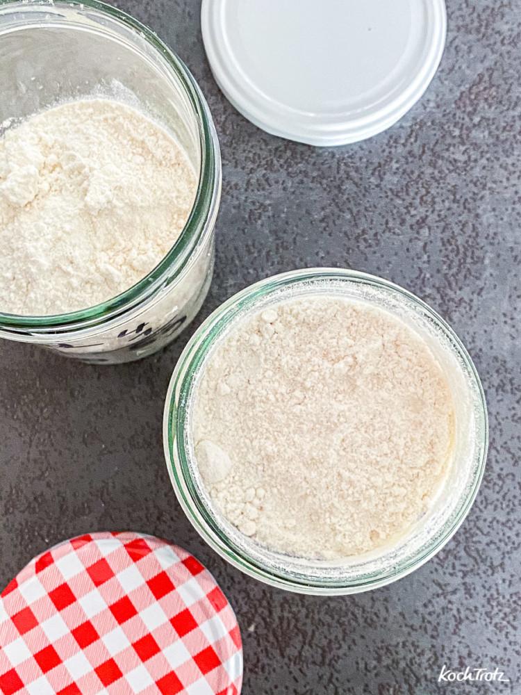 Hefepulver - Frischhefe im Kühlschrank für Wochen haltbar machen